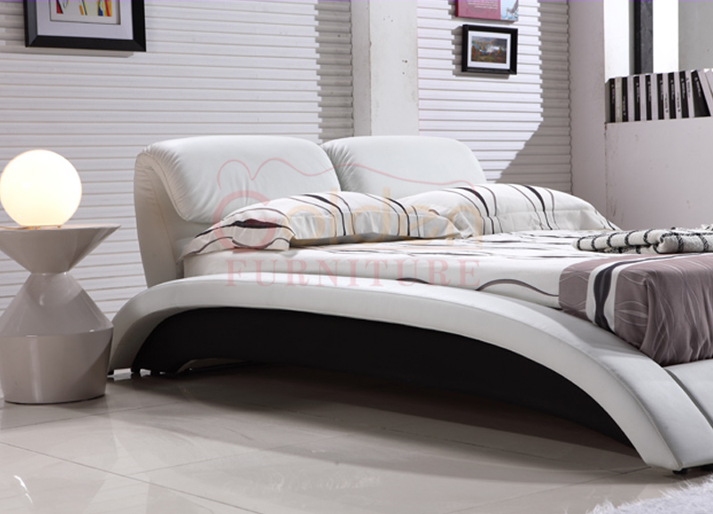 Golden Furniture 2015 Ciff Latest Double Bed Designs G1022