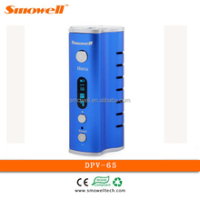 Smowell hicig mod 65w box mod, DPV-65 giant e-cigarette