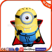 Top quality funny action figure minion despicable me minion / Pu stress soft toys minion