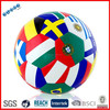 Colorful promotional high quality football ball match size