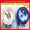 Round 12v 24v universal halogen truck auto fog lamp