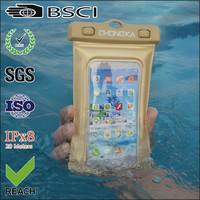 fancy inflated plastic pvc waterproof smart phone pouch