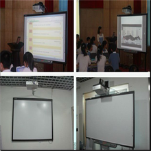 Finger dual touch CCD interactive electronic whiteboard marker