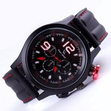 YX6046 New Black Cheap Chronograph Sports Watch Men Colors