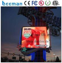 hige gray scale control card P7.62 SMD RGB led module p10 led outdoor advertising board