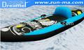 baratos parque aquático brinquedo inflável do barco do pontão