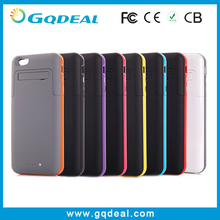 Hot New Products for 2015 Power Blank Case Flip Leather Cover for Apple iPhone 6 Plus