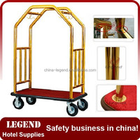 2015 new products hotel luggage cart,hotel trolley luggage