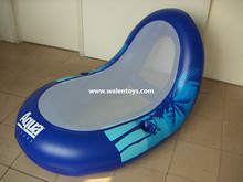 inflatable float mesh lounge,inflatable lake floats