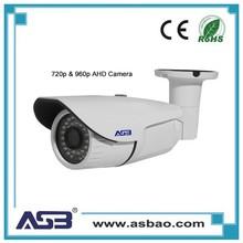 ASB 1.0 MP AHD Camera Waterproof Analog CMOS 960H Real time Infrared Camera