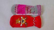 de dibujos animados lindo imágenes de los niños calcetines de suelas de dispensación