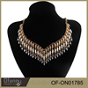 New Product Fashionable Jewelry 3 Layered Crystal Necklace Jewelry Findings