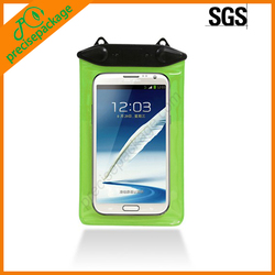 2014 Translucent PVC Waterproof Bag for Mobile Phone