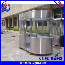 Outdoor furniture prefabricated security booth sentry box movable guard house
