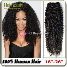 Alibaba Express Wholesale Hair Quaility Assured Brazilian kinky curly hair Extentions