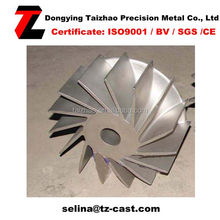 2015 Newest Item TZ Stainless Steel Precision Impeller
