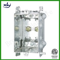 cETL approved gangable device galvanized steel conduit metal electrical box