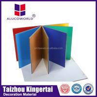 Alucoworld glass building materials acp/acm glass wall materials finishing walls panels