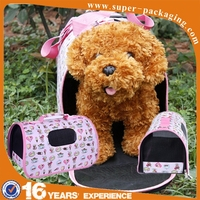 KID Fashion mesh breathable pet polyester carry bag for dog
