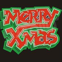 2012 Newest Christmas Rhinestone Products Iron On Glitter Transfer