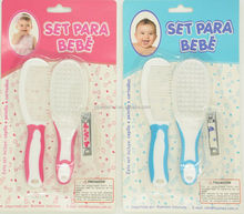 baby body care sets,baby brush &comb set,health care kit