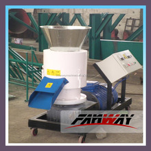 Animal feed pellet making machine could be driven by both electric-motor and diesel engine