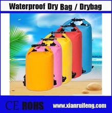 new items in china market &High Quality Durable 500D PVC Waterproof Bag Ocean Pack Dry Bag With Shoulder Straps for Outdoor Camp