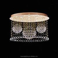 modern k9 crystal ceiling lamp , led lighting,rustic chandeliers pendant