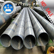 API 5L GRB SSAW Spiral welded steel pipe used in petroleum project