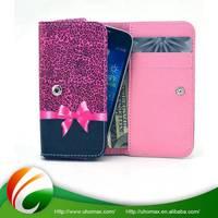 High Standard Custom Leather Belt Clip Flip Wallet Case For Iphone 5