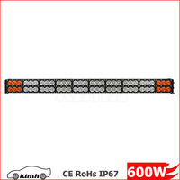 New Products Offroad Amber Roof car led light bar 600w
