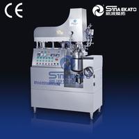 Long-term usage pretty machine 2015 One /Three Pots Automatic Vacuum Emulsifying Mixer