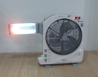 Solar rechargeable table fan in India Hot sale
