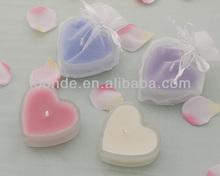 Cute design popular heart shaped organza bags