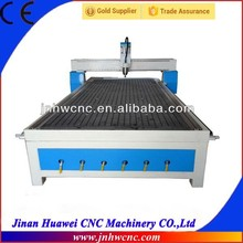 3d cnc router for wood with heavy duty bed