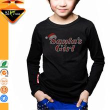 Santa girl fashion apparels custom t-shirt