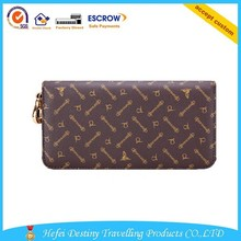 unique design luxury high quality durable handmade women leather wallet