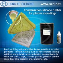 liquid silicone mold making for bronze lost Wax Casting