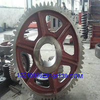 OEM Large Turntable Gears , Rolling Mill Gears , Fixed Gear Wheels with High precision