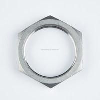 stainless steel female fitting 1 inch bsp threaded hexagon nut cf8/cf8m