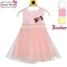 Fiore ragazza abito rosa shocking vestiti del bambino prezzo all'ingrosso coreano per le ragazze