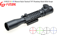 Riflescopes 3-9X32 R/G/B Multi-Rail Picatinny Tactical Mount Tactical Rifle Scope