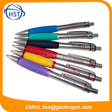 High quality good material professional supplier retractable metal ball pen