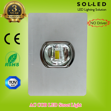 Cheap Price 20W 30W 40W 50W AC COB No Driver LED street light with 3 years warranty