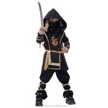 ninja costume di halloween felpa con cappuccio drago stampato cosplay costume per i bambini vestiti di carnevale prestazioni abbigliamento