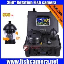 Underwater submarine camera 360 degree camera underwater PTZ camera CR110-7C with 20m to 300m cable