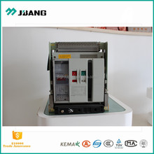 W1 Air circuited current ac dc 2000A~3200A drawer type frame breaker with high breaking capacitt breaker 3P/4P Ray China factory