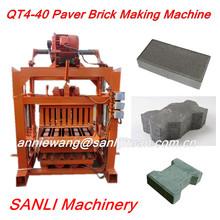 QT 4-40 Brick Making Machine High Demand Product India/ Small Paving Interlocking Brick Making Machine In America