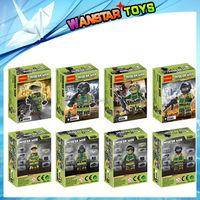 hot educational toys decool 0144-0146 blocks special forces blocks
