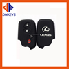 Silicone Car key cover for Lexus intelligence key ES240 ES350 RX270 RX350 key protective case shell 4 buttons car accessories